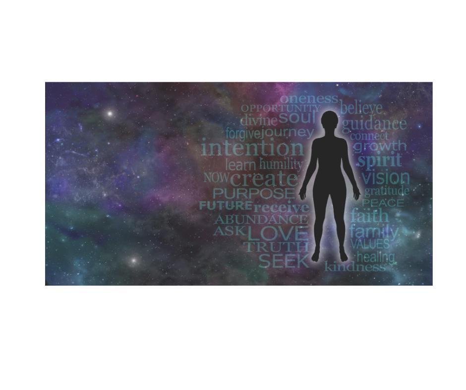 Silhouette encountering universal values